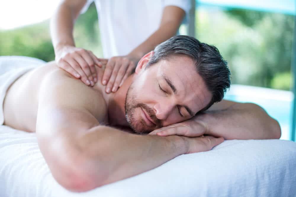 Erection during Massage
