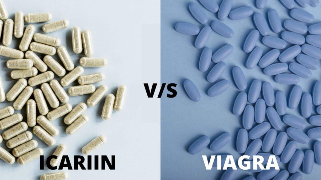 Icariin vs. Viagra