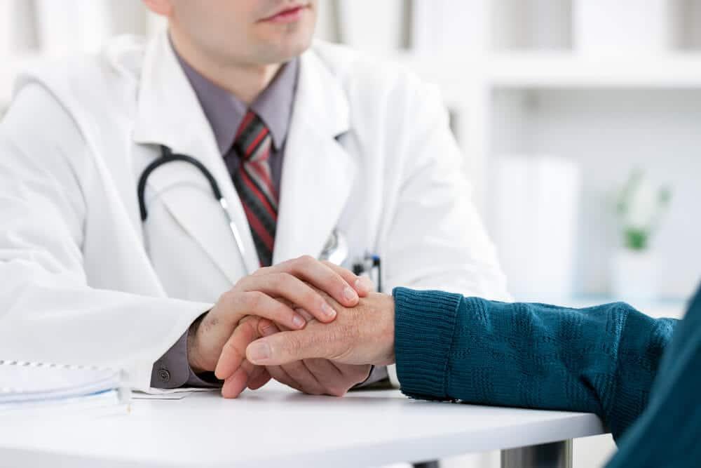 seeking doctor's help