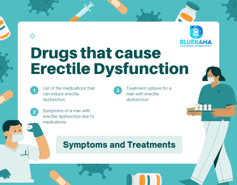 Drugs that cause Erectile Dysfunction